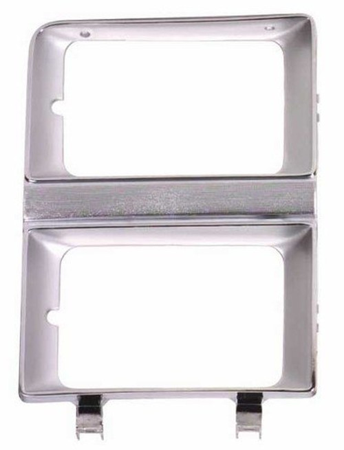LH / 1981-1982 CHEVY & GMC TRUCK HEADLAMP DOOR (dual headlights)