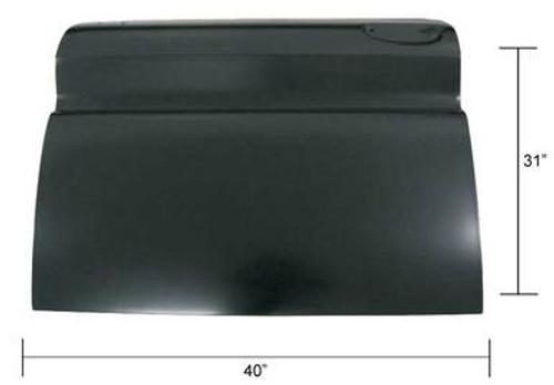 LH / 1960-66 CHEVY & GMC TRUCK FULL OUTER DOOR SKIN