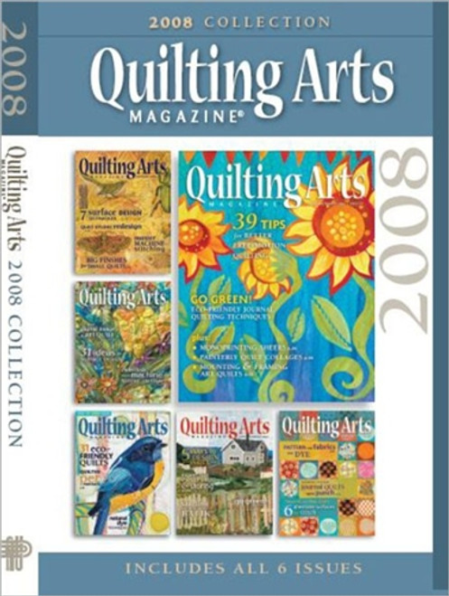 Quilting Arts Magazine 2008 Collection CD 6 Issues