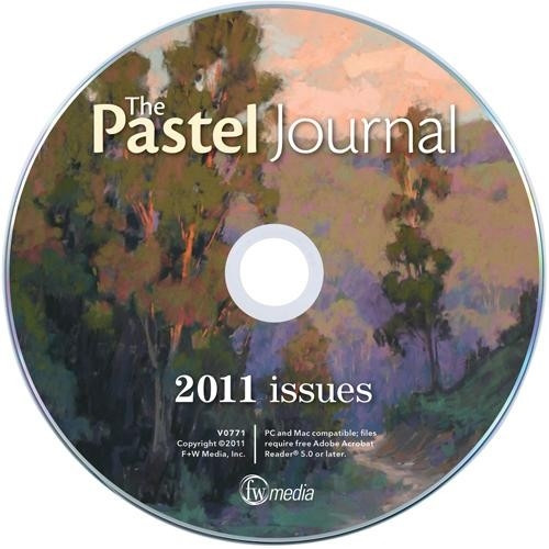 The Pastel Journal Magazine 2011 Annual CD