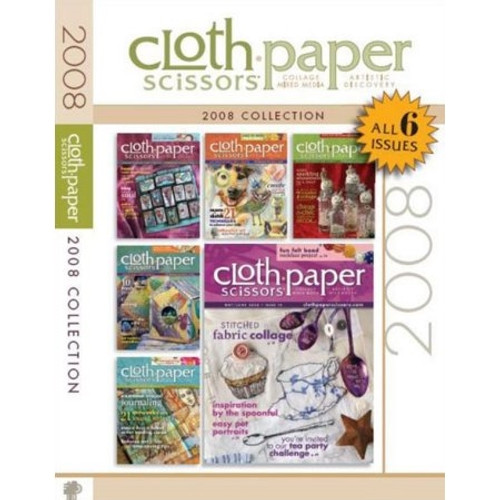 Cloth-Paper Scissors 2008 Collection CD 6 Issues