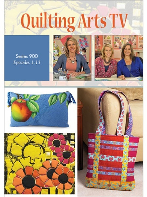 Quilting Arts TV Series 900 With Pokey Bolton DVD