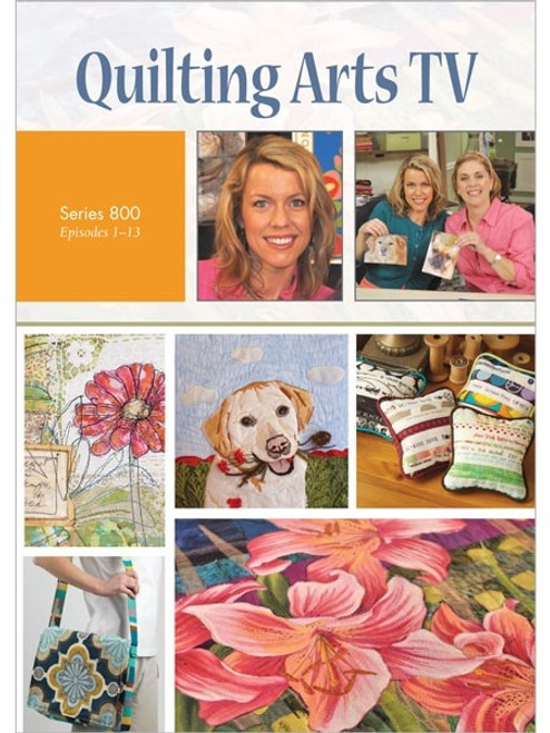 Quilting Arts TV Series 800 with Pokey Bolton DVD