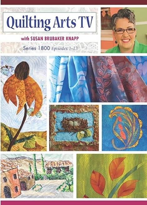 Quilting Arts TV Series 1800 With Susan Brubaker Knapp DVD (9781632505620)