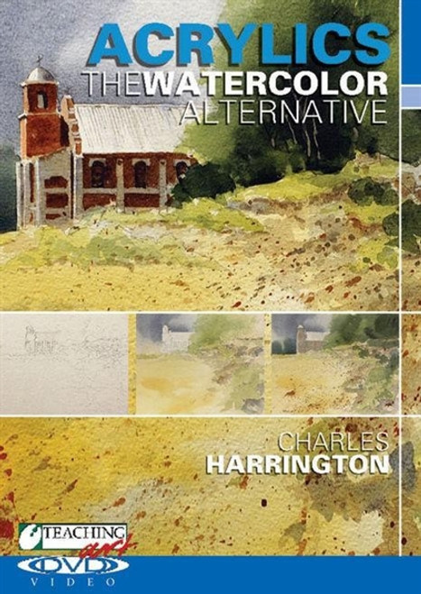 Acrylics The Watercolor Alternative with Charles Harrington DVD