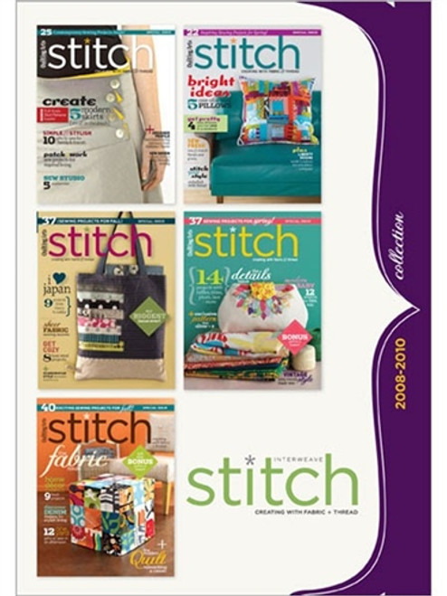 Interweave Stitch 2008-2010 Collection CD 5 Issues