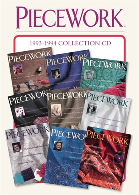 PieceWork Magazine 1993-1994 Collection CD 9 Issues