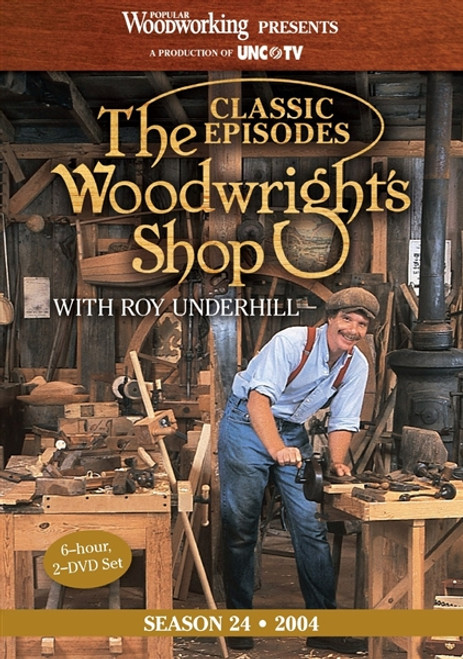 The Woodwright's Shop with Roy Underhill - Season 24 - 6 Hour - 2 DVD Set  - 9781440335082