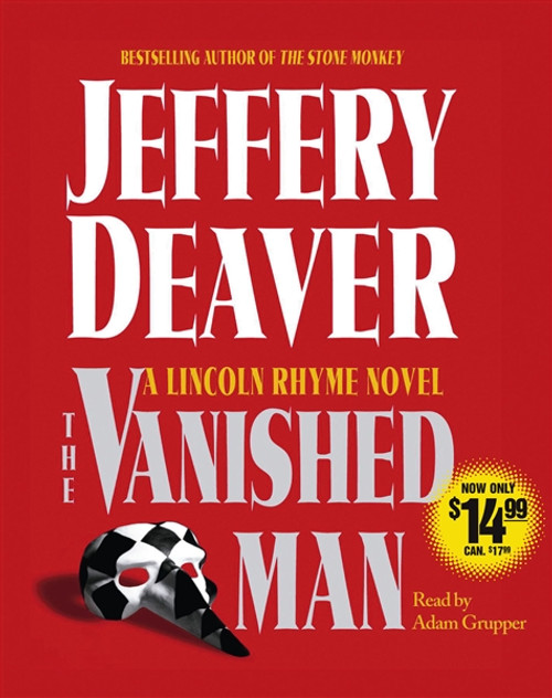 The Vanished Man - A Lincoln Rhyme Novel by Jeffery Deaver Audiobook