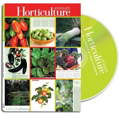 Horticulture - Fruits & Veggies CD