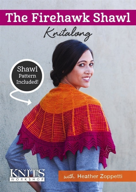 The Firehawk Shawl Knitalong with Heather Zoppetti DVD