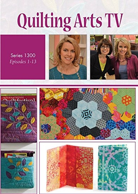 Quilting Arts TV Series 1300 with Pokey Bolton DVD 4-Disc Set