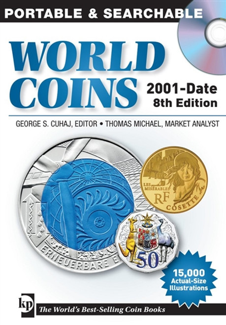 2014 Standard Catalog of World Coins 2001-Date 8th Edition by George S   Cuhaj CD
