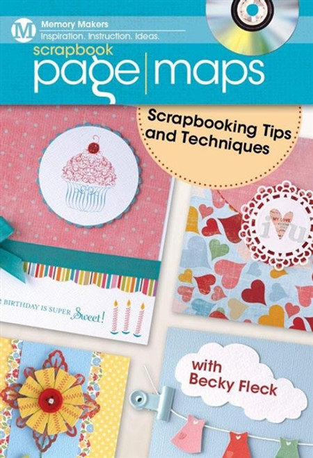 Scraook Page Maps - Scraooking Tips and Techniques with Becky Fleck DVD