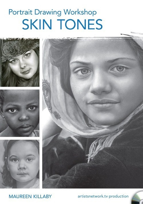 Portrait Drawing Workshop - Skin Tones with Maureen Killaby DVD