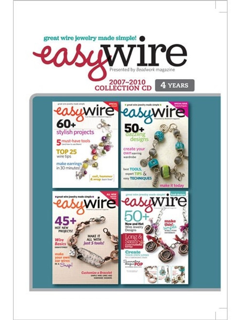 Easy Wire Magazine 2007-2010 Collection CD 4 Issues