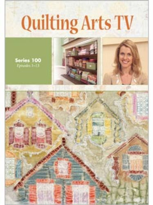 Quilting Arts TV Series 100 With Patricia Pokey Bolton DVD