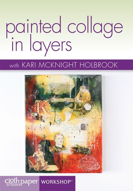 Painted Collage in Layers with Kari McKnight-Holbrook DVD