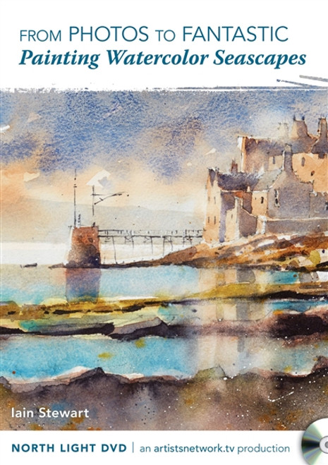 Painting Watercolor Seascapes with Iain Stewart DVD