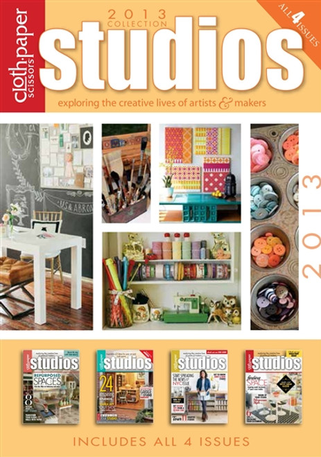 Studios Magazine 2013 Collection CD 4 Issues