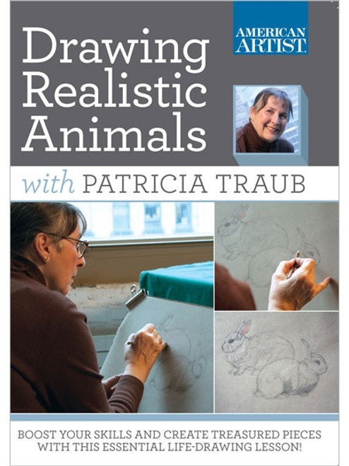 Drawing Realistic Animals with Patricia Traub DVD