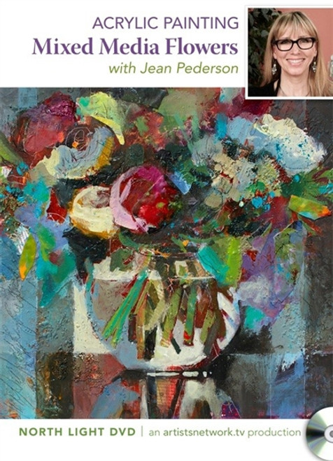 Acrylic Painting - Mixed Media Flowers with Jean Pederson DVD