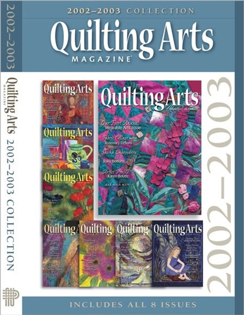Quilting Arts Magazine 2002-2003 Collection CD 8 Issues