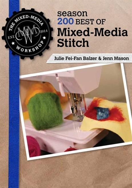 Mixed-Media Stitch with Julie Fei-Fan Balzer and Jenn Mason DVD