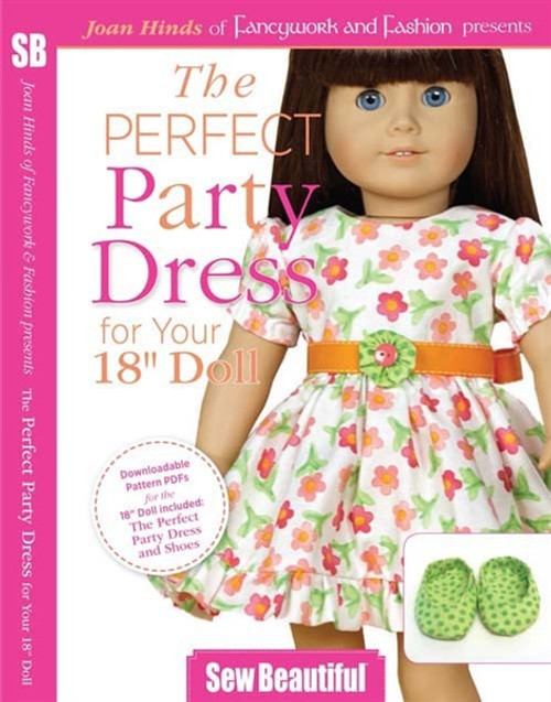 The Perfect Party Dress for Your 18 Doll With Joan Hinds DVD