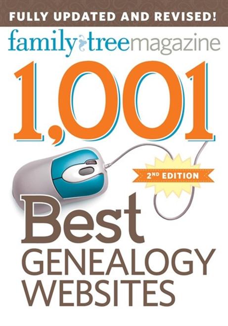 1,001 Best Genealogy Websites CD 2nd Edition