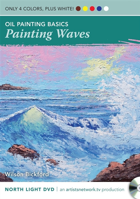 Oil Painting Basics - Painting Waves with Wilson Bickford DVD