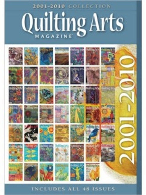 Quilting Arts Magazine 2001-2014 Ultimate Collection CD