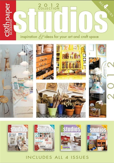 Studios Magazine 2012 Collection CD 4 Issues