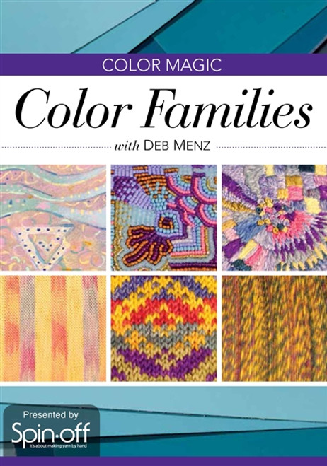 Color Magic - Color Families with Deb Menz DVD