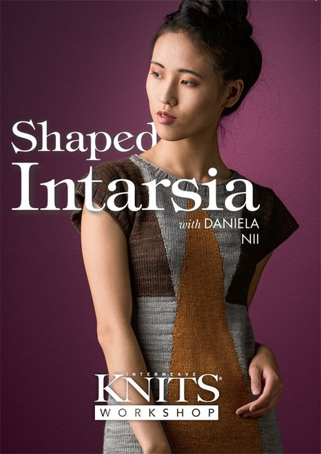 Shaped Intarsia with Daniela NII DVD
