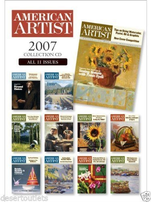 American Artist 2007 Collection CD 11 Issues