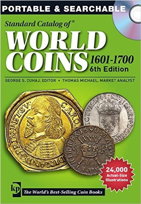 Standard Catalog of World Coins 1601-1700 - by George S. Cuhaj and Thomas Michael CD