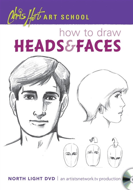 Chris Hart Art School - How to Draw Heads & Faces DVD