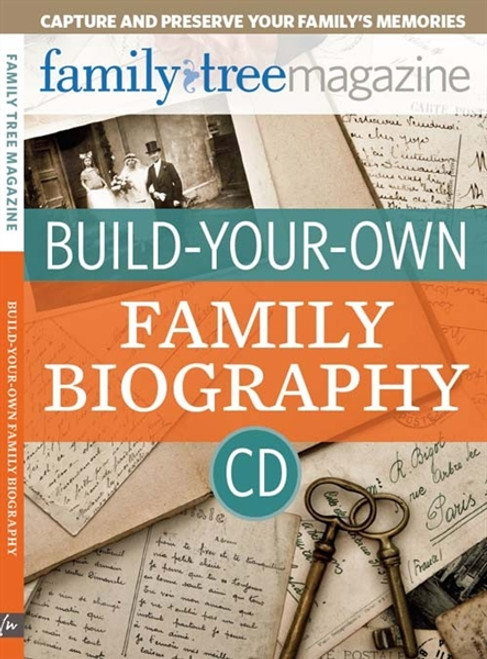 Build-Your-Own Family Biography By Sunny Morton CD