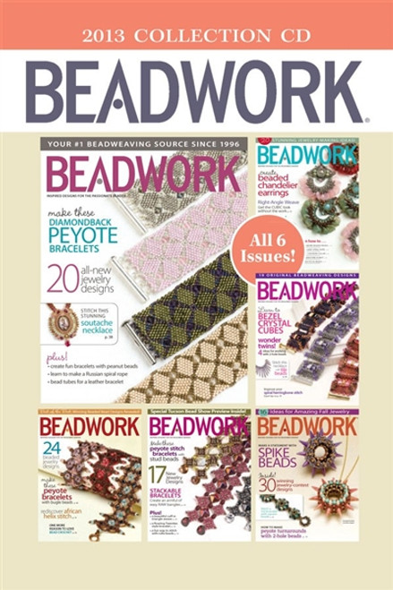 Beadwork Magazine 2013 Collection CD 6 Issues