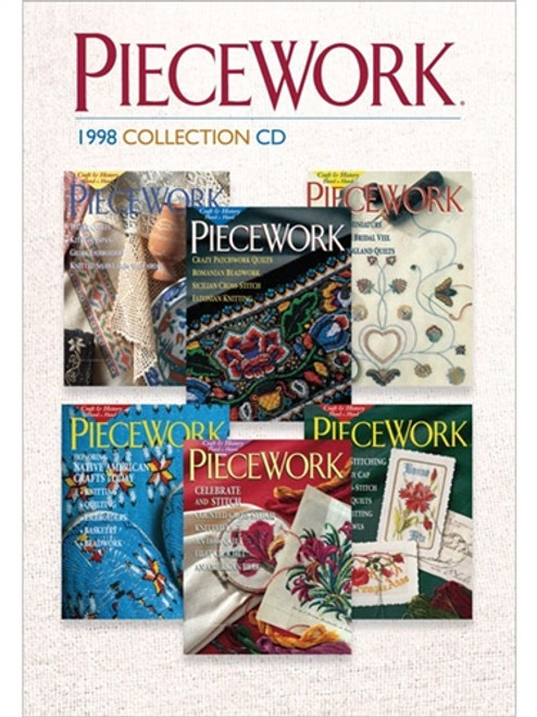 PieceWork Magazine 1998 Collection CD 6 Issues