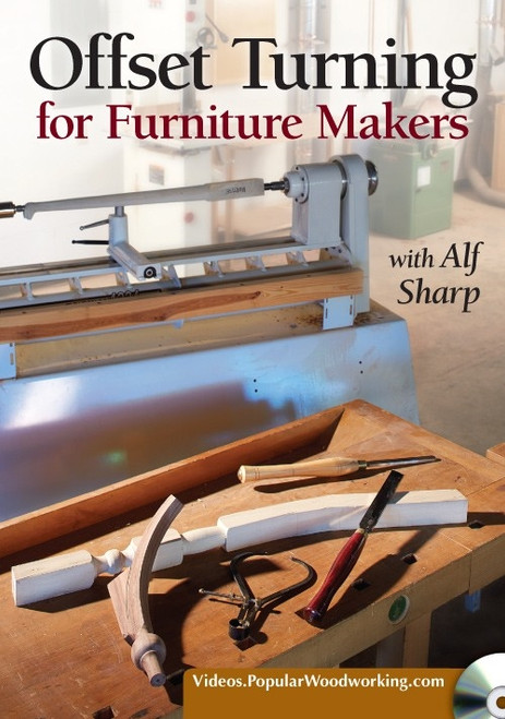 Offset Turning for Furniture Makers with Alf Sharp DVD