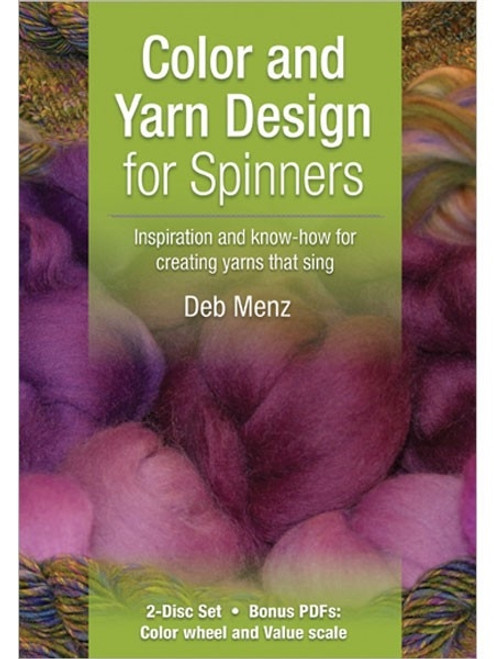 Color and Yarn Design for Spinners with Deb Menz DVD