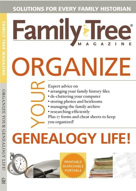 Family Tree Magazine Organize Your Genealogy Life! CD