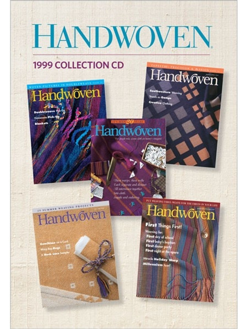 Handwoven Magazine 1999 Collection CD 5 Issues