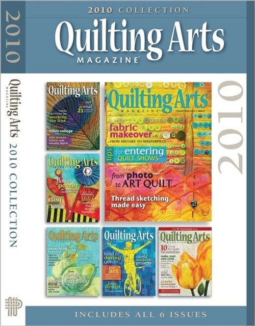 Quilting Arts Magazine 2010 Collection CD 6 Issues