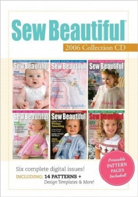 Sew Beautiful Magazine 2006 Collection CD