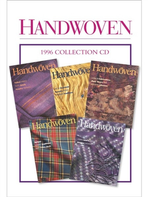 Handwoven Magazine 1996 Collection CD 5 Issues