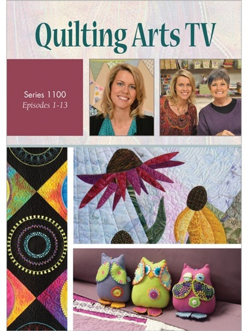 Quilting Arts TV Series 1100 With Pokey Bolton DVD
