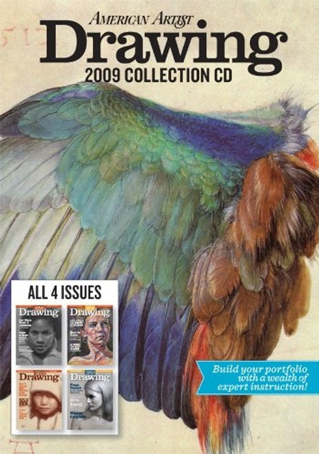 American Artist Drawing Magazine 2009 Collection CD 4 Issues